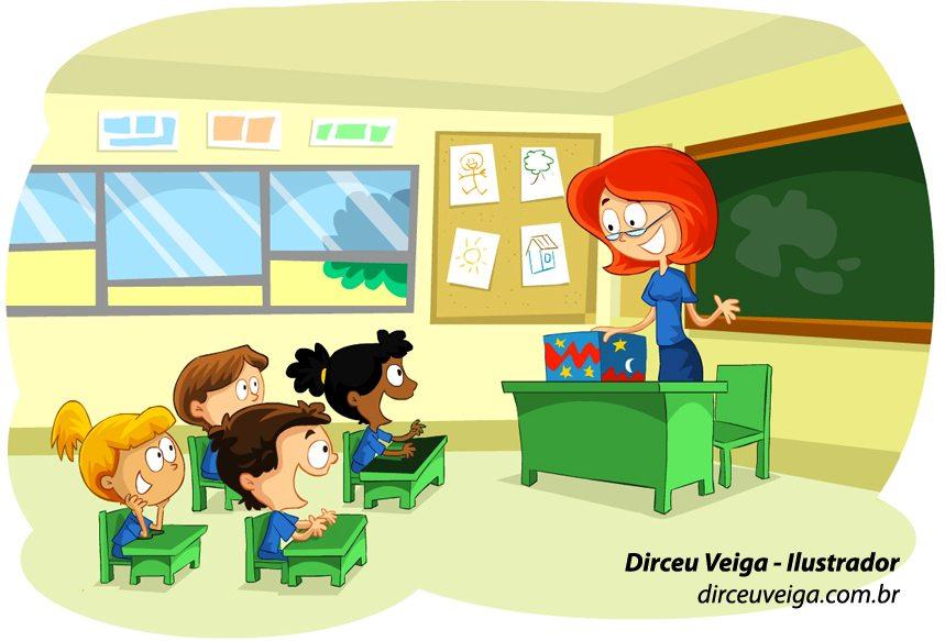 Ilustração Infantil Didática