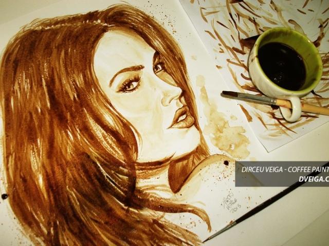 Ilustrador Freelancer - Pinturas com Café