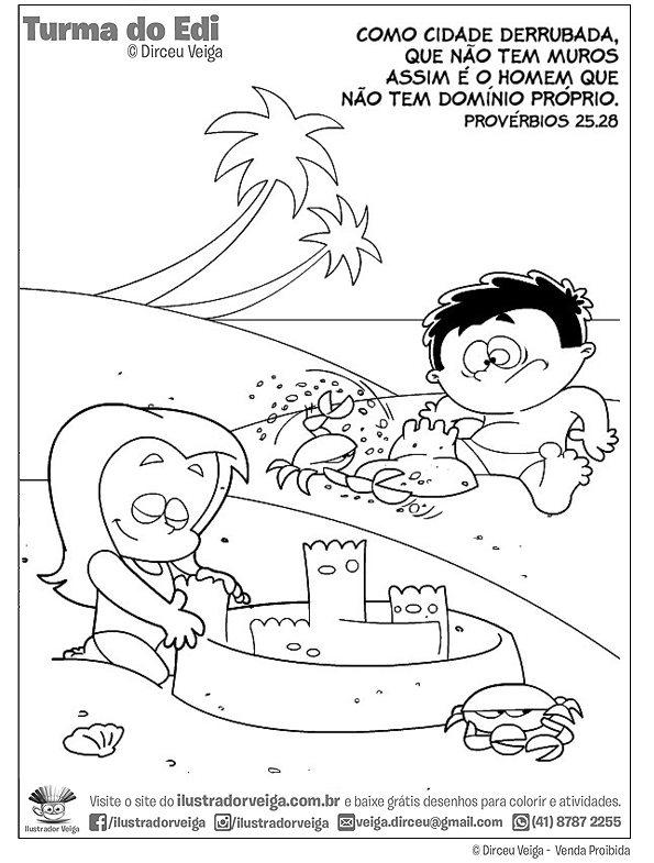 Atividade Bíblica Provérbios 25:28