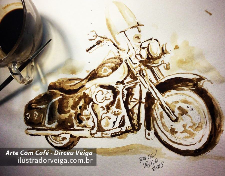 Pintura Harley Davidson