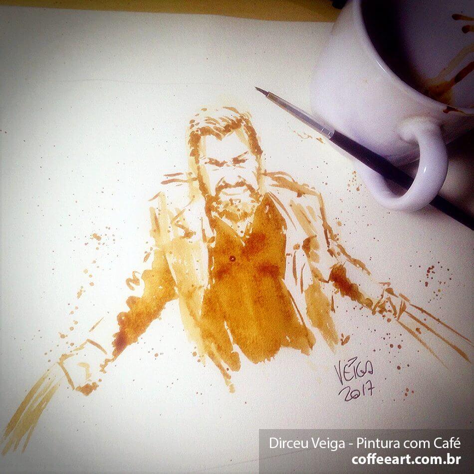 Logan Wolverine Pintura