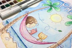 Ilustração Infantil em Aquarela