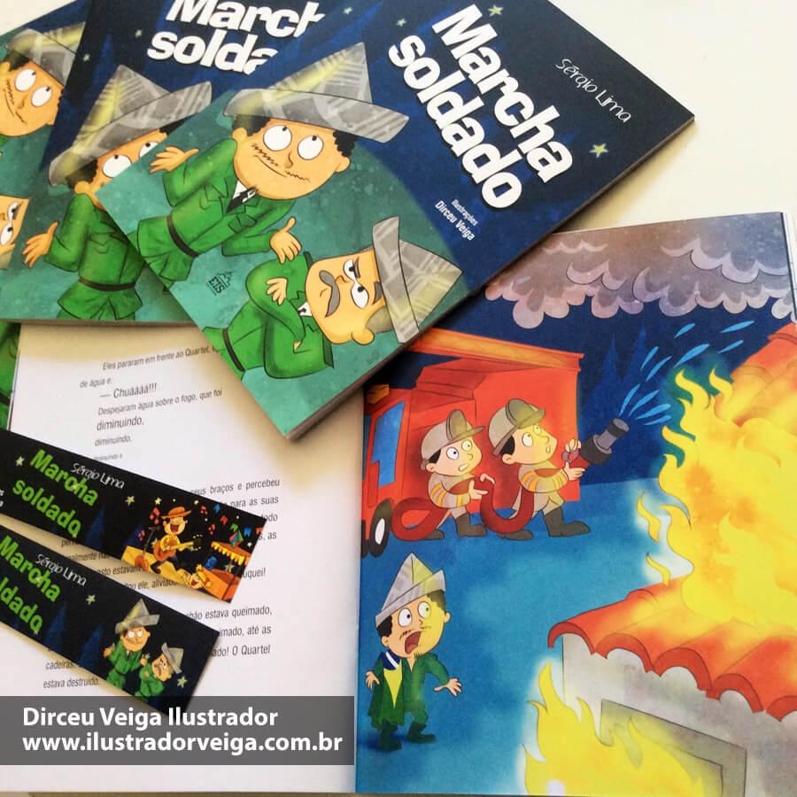 Livro Infantil Ilustrado Dirceu Veiga
