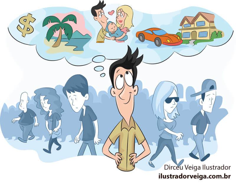 Ilustração Cartoon