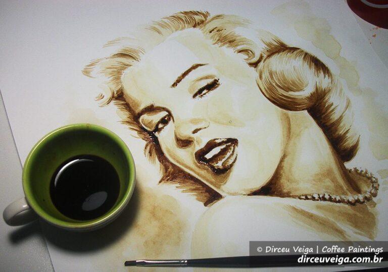 Pintura com Café - Coffee Art